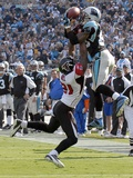 Falcons Panthers Football: Charlotte, NORTH CAROLINA - Steve Smtih Photographic Print by Mike McCarn