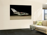 A Panavia Tornado Ecr of the Italian Air Force Prepares for a Night Mission Wall Mural by  Stocktrek Images