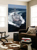 The Pre-Commissioning Unit Jason Dunham Conducts Sea Trials in the Atlantic Ocean Wall Mural by  Stocktrek Images