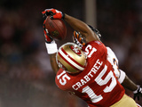 Bears 49ers Football: San Francisco, CA - Michael Crabtree Photographic Print by Marcio Jose Sanchez