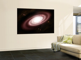 A Very Old Spiral Galaxy Wall Mural by  Stocktrek Images