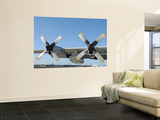 The Wings of an LC-130 Hercules Wall Mural by  Stocktrek Images