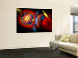 The Universe in a Perpetual State of Chaos Wall Mural by  Stocktrek Images
