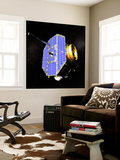 The Interstellar Boundary Explorer Satellite Wall Mural by  Stocktrek Images