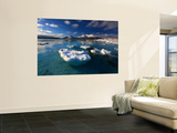 A Winter View Looking Out in Tjeldsundet Strait, Norway Wall Mural by  Stocktrek Images