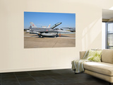 Side View of a Turkish-Built F-16 Aircraft Wall Mural by  Stocktrek Images