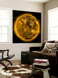 Magnetic Field Lines on the Sun Wall Mural by  Stocktrek Images