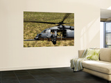 An Hh-60 Pave Hawk Flies over the Desert During Angel Thunder 2010 Wall Mural by  Stocktrek Images