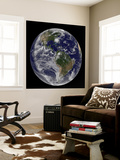 Full Earth with Hurricane Irene Visible on the United States East Coast Wall Mural by  Stocktrek Images