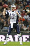 Britain Patriots Buccaneers Football: London,  - Tom Brady Plakater av Stephan Savoia