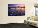 A Winter Sunset at Evenskjer in Troms County, Norway Wall Mural by  Stocktrek Images