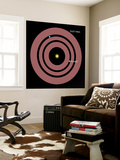 Diagram Showing How Planets Orbit Within a Ring of Dust Surrounding Beta Pictoris Wall Mural by  Stocktrek Images