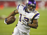 Vikings Cardinals Football: Glendale, AZ - Percy Harvin Photo by Matt York