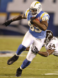 Broncos Chargers Football: San Diego, CA - Antonio Gates Photographic Print by Denis Poroy