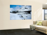 A Royal Air Force Tornado GR4 Low Flying over North Wales Wall Mural by  Stocktrek Images