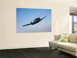 The Commemorative Air Force's F6F-5 Hellcat in Flight Wall Mural by  Stocktrek Images