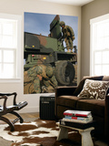 Marines Prepare the Antenna of an AN/TPQ-46A Radar System Wall Mural by  Stocktrek Images