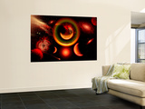 The Universe Is a Place of Intense Color and Beauty Wall Mural by  Stocktrek Images