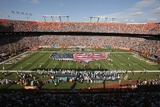 Saints Dolphins Football: Miami, FL - Sun Life Stadium Plakater av Jeffrey M. Boan