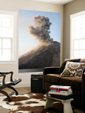 Ash Cloud from Vulcanian Eruption of Anak Krakatau Volcano, Sunda Strait, Java, Indonesia Wall Mural by  Stocktrek Images