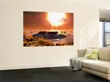 A Distant Alien World That Orbits Close to its Sun Wall Mural by Stocktrek Images