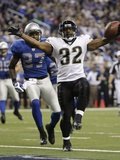 Jaguars Jones Drew Football: Detroit, MI - Maurice Jones-Drew Posters by Paul Sancya