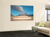 Plymouth Courthouse Buried in Lahar Deposits from Soufriere Hills Volcano, Montserrat, Caribbean Wall Mural by  Stocktrek Images