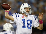 Colts Titans Football: Nashville, TN - Peyton Manning Photographic Print by Wade Payne