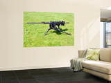 A Browning M2 .50 Caliber HeaVY Machine Gun Wall Mural by Stocktrek Images
