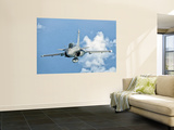 A Dassault Rafale of the French Air Force in Flight over Brazil Wall Mural by  Stocktrek Images