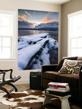 A Cold Morning in Grovfjorden, Troms County, Norway Wall Mural by  Stocktrek Images