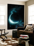 An Oceanic Planet Wall Mural by  Stocktrek Images