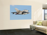 An Italian Air Force Panavia Tornado Ecr Wall Mural by  Stocktrek Images