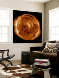 A Dark Rift in the Sun's Atmosphere known as a Coronal Hole Wall Mural by  Stocktrek Images