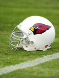 Cardinals Titans Football: Nashville, TN - An Arizona Cardinals Helmet Photographic Print by John Russell
