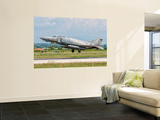 An F-4 Phantom of the Hellenic Air Force Wall Mural by Stocktrek Images 