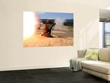 An Assaultman Fires a Rocket Propelled Grenade Wall Mural by  Stocktrek Images
