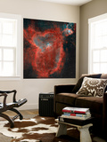 The Heart Nebula Wall Mural by  Stocktrek Images
