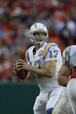 Chargers Chiefs Football: Kansas City, MO - Philip Rivers Plakater av Charlie Riedel