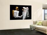Robonaut 2, a Dexterous, Humanoid Astronaut Helper Wall Mural by  Stocktrek Images