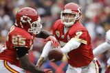 Chiefs Redskins Football: Landover, MD - Matt Cassel and Jamaal Charles Photographic Print by Alex Brandon