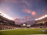 Bills Patriots Football: Foxborough, MA - Gillette Stadium Photographic Print by Steven Senne