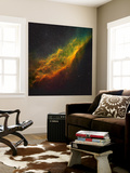 The California Nebula Wall Mural by  Stocktrek Images