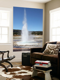 Sawmill Geyser, Upper Geyser Basin Geothermal Area, Yellowstone National Park, Wyoming Wall Mural by  Stocktrek Images