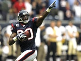 Saints Texans Football: Houston, TEXAS - Andre Johnson Photographic Print by Dave Einsel