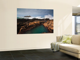 Godrevy Lighthouse in Cornwall, England Wall Mural by  Stocktrek Images