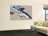 An F/A-18 Super Hornet of the U.S. Navy Air Test and Evaluation Squadron Wall Mural by  Stocktrek Images
