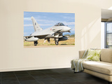 A Eurofighter 2000 Typhoon of the Italian Air Force Wall Mural by  Stocktrek Images