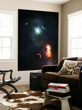 Two Armageddon's Happening at the Same Time Wall Mural by  Stocktrek Images