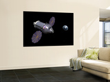 Starboard Side of the Next Generation Deep Space Vehicle Wall Mural by  Stocktrek Images
